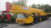 used mobile crane 55t kato