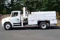 2002 FREIGHTLINER FL70; NATIONAL 7 TON KNUCKLEBOOM MODEL N80A