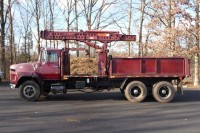#7869 1984 FORD LTS9000; USTC TROLLEY CRANE MODEL 55-26
