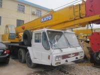 Kato NK400E used truck crane