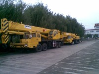 55T used truck crane tadano