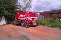 Compact truck crane