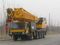 160t used tadano mobile crane