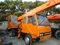 Used Kato mobile crane 7 ton crane