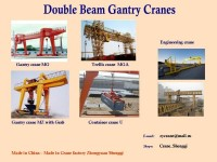 Port  gantry crane MGA (10/8t-80/20t) (made in China)