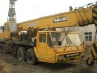 Tadano TG500E Fully Hydraulic Truck Crane Mitsubishi chassis
