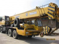 Tadano TG500E Hydraulic Truck Crane with Nissan Chassis