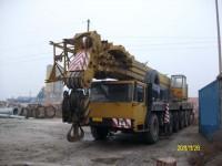 Liebherr LTM1125 all terrain truck crane