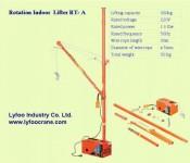 Electrical mini crane RT-A