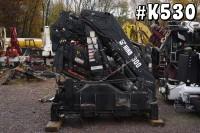 K530 – 1998 HIAB 300-4 UNMOUNTED KNUCKLEBOOM; 13 TON TRUCK CRANE
