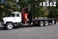 8562 – MACK FASSI KNUCKLEBOOM CRANE TRUCK; 10 TON
