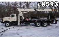 8593 – 1998 INTERNATIONAL 2674; NATIONAL 600C BOOM CRANE TRUCK; 17 TON