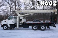 8602 – 1998 FORD NATIONAL CRANE 800C; 21 TON BOOM TRUCK