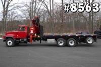 8563 – MACK FASSI KNUCKLEBOOM CRANE TRUCK; 10 TON