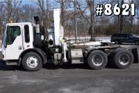 8621 – FREIGHTLINER FASSI KNUCKLEBOOM CRANE TRUCK; 10.5 TON