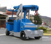 Gruniverpal Minidrel 75B 4×4 electric crane