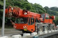 Used crane AC155